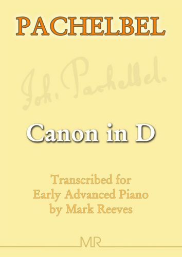 Canon in D by Pachelbel for piano solo