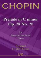 Chopin - Prelude in C minor Op. 28 No. 20 for Intermediate Piano