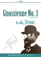 Erik Satie - Gnossienne No 3 for Intermediate Piano