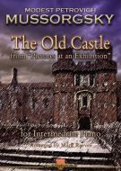Mussorgsky - The Old Castle from Pictures at an Exhibition arranged for intermediate piano